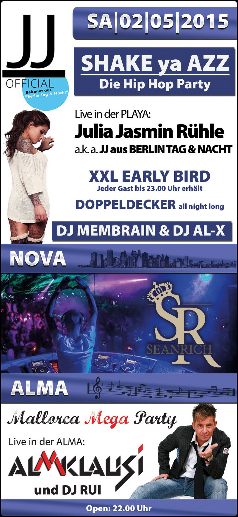 Single party würzburg 2015
